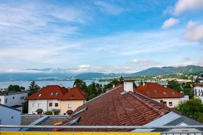 Ruhige Dachgeschosswohnung mit schöner Aussichtsterrasse