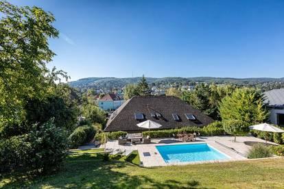 tolle Villa mit Pool, grossem Garten und Wintergarten
