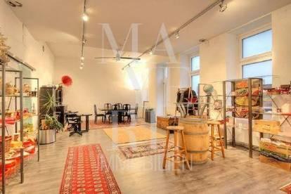 Büro/Praxis/Geschäft mit Fitnessbereich und Wintergarten