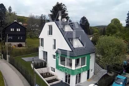 Einfamilienhaus mit Blick über Wien, Klimaanlage in Ober - und Dachgeschoss - unbefristet