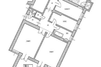 Altbauwohnung in gepflegten Jahrhundertwendehaus - unbefristet
