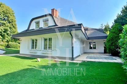 Ruhig gelegenes, modernes Einfamilienhaus mit Indoor Pool und Sauna