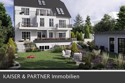 Villa Hietzing! Exklusive Gartenwohnung mit Pool und Poolhausbenutzung!