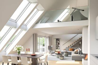 Villa Hietzing! Exklusives Penthouse mit traumhaftem Grünblick!