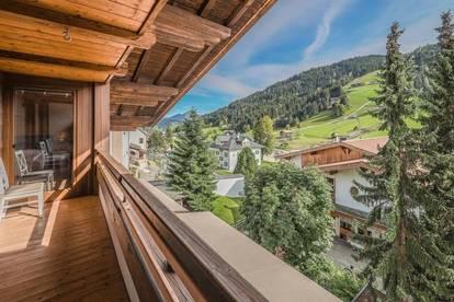 Eigentumswohnung im Dorfzentrum mit Bergblick