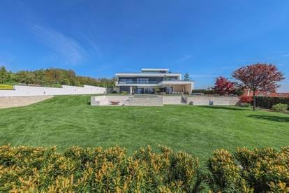 Architektenvilla der Superlative mit unverbaubarer Aussicht