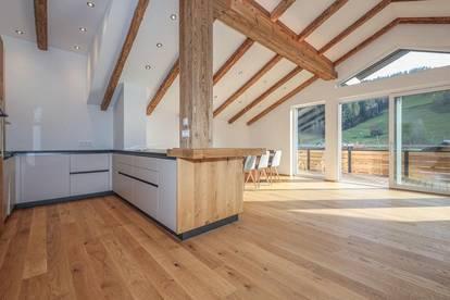 Luxuriöse Dachgeschossmaisonette nahe dem Skilift