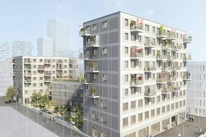 Neubauerstbezug, moderne 88m² 3 Zimmer mit Balkon Seestadt U2