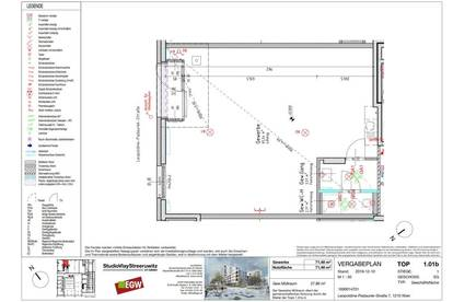 Modernes Erstbezug Geschäftslokal / Büro mit 72m² - Siemensäcker