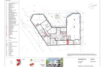 Moderne Geschäftslokale 16m² bis 202m² im Zentrum von Deutsch Wagram