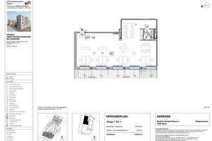 Attraktives helles 120m² Büro in der Seestadt bei U2