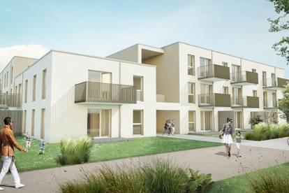 3 Zimmer Wohnung mit großem westseitigen Balkon