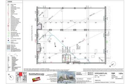 Moderne großzügige Geschäftsfläche mit 391m² ERSTBEZUG bei den Siemensäcker
