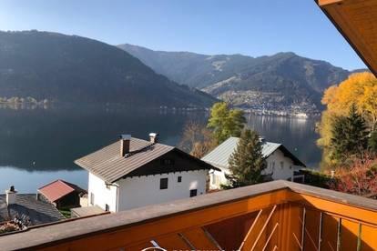 Thumersbach   Seeuferstrasse - ab März 2021 ; 4 Zimmer - Dachgeschosswohnung 100 m², Kachelofen, einzigartiger Blick über den Zeller See