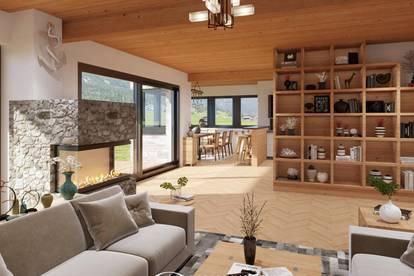 5753 Saalbach/ Hinterglemm: Neubau ! Landhausstil, Einfamilienhaus 210m² Whnfl, 5 Zimmer, Sauna, Eigengarten, sonnig, Carport, Werkstatt, H 2