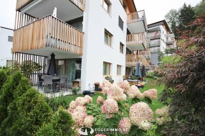 5700 Zell am See / Thumersbach; INVESTMENT: sonnige 2 Zimmer-Gartenwohnung 62m², Tiefgaragenstellplatz, teilmöbliert, neuwertig, 119m2 sonniger Garten!!