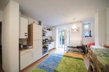 Saggen: 2-Zimmer-Wohnung mit Terrasse