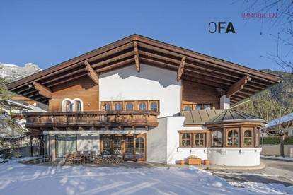 Gnadenwald: Landhausvilla mit Einliegerwohnung