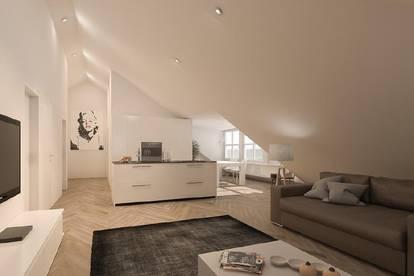 Provisionsfreie Dachgeschoßwohnung im Zentrum