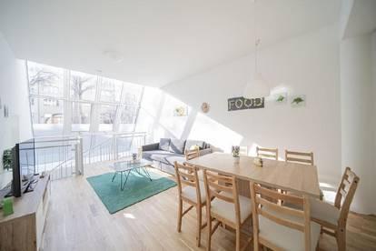 Sonniges 2-Zimmer-Loft mit Garten, optional mit TG