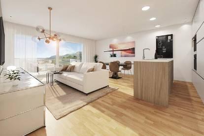 Erstbezug: Sonnige 4-Zi-Wohnung mit Südbalkon