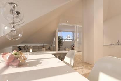 Zentrum: Provisionsfreie 3- Zi-DG-Wohnung mit Wintergarten