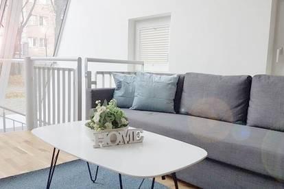 Sonniges 2,5-Zimmer-Loft mit Garten und TG