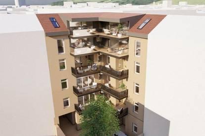 Sonniges 3-Zimmer Penthouse in der Innenstadt!