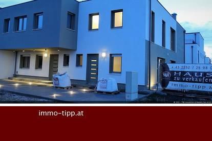 Gerasdorf Föhrenhain! Architektonische Ziegelmassiv-Einfamilienhäuser in gekoppelter Bauweise