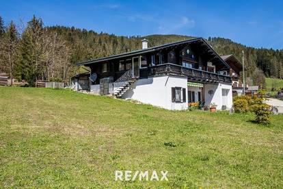 OPEN HOUSE am Sa. 12. Juni von 9-15 Uhr! Ansprechendes Einfamilienhaus mit integrierter Ferienwohnung in Gosau am Dachstein!