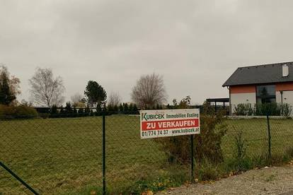 Grundstück in Groß Enzersdorf Nähe DOK