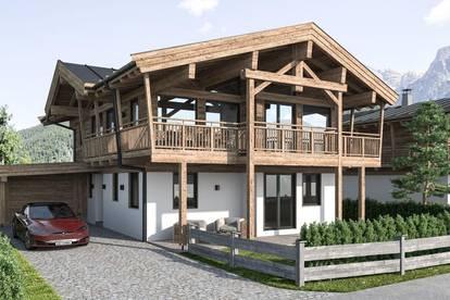 Neubau: Sonniges eigenständiges Chalet / Haus West