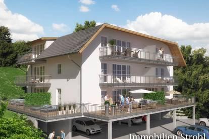 Neubauvorhaben - Logenplatz in Henndorf am Wallersee - 3-Zimmer-Wohnungen