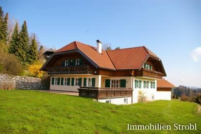 Gemütliches Einfamilienhaus mit 3-Seenblick zu mieten