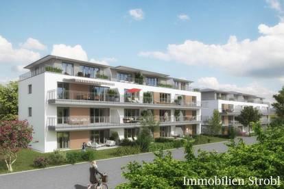 Gemütliche 3-Zimmer-Neubauwohnung mit Garten in Eggelsberg zu mieten