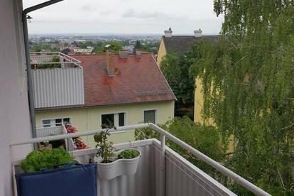 Singlewohnung mit Balkon - Blick auf Mödling