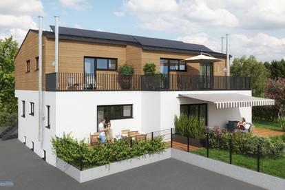 DesignW4 Henndorf - Traumhafte 4-Zimmer-Wohnung mit großem Garten