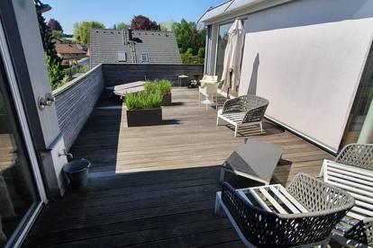 Traumhafte 4,5-Zi-Penthouse-Whg mit 162 m2 + 41 m2 Terrasse in Alt-Liefering - Sonnenschein und Lebenslust inklusive