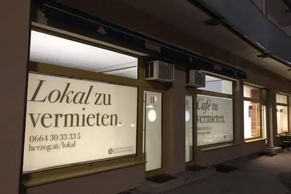 Graz - Geidorf: Geschäftslokal / Cafe in belebter Ecke