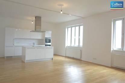 Stilvolle 4-5-Zimmer Altbau Maisonettewohnung mit kleinen Balkon - zu mieten 1040 Wien