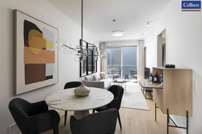 1010 - Voll möbliertes Luxus Apartment - Nouveaux Étages - Werder Six - Erstbezug