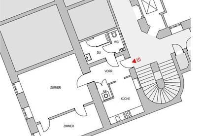 2 Zimmer Wohnung - Miete 1040 Wien