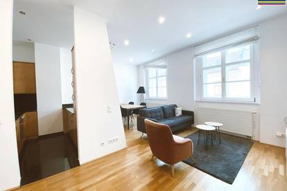 Stilvoll möblierte 2-Zimmer Wohnung mit Terrasse in prominenter Innenstadtlage - nähe Stephansplatz