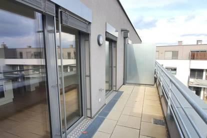 Wunderschöne 2 Zimmer DG-Maisonette mit 3 Terrassen nähe Prager Straße | Neubau