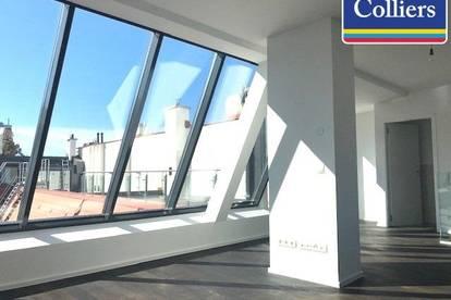 State of the art: Terrassenwohnung in bezauberndem Biedermeierhaus