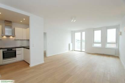 Grün-Ruhelage - Moderner und helle 2 Zimmer-Wohnung mit traumhaftem Balkon!