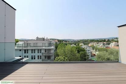 ON TOP in Toplage!! Upper West 119 - Erstbezug mit 4 Zimmer und 58m² Fernblick-Dachterrasse!