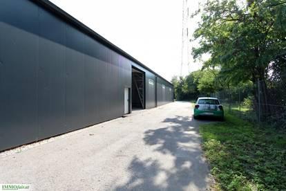Attraktive Lagerfläche mit optimaler Anbindung unweit der Wiener Stadtgrenze.