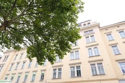 Lichtdurchflutete, geräumige 3-Zimmer Altbauwohnung - Nähe U3 Enkplatz ( 2. OG - ca. 104m² 3 ZI - € 1.125,19)