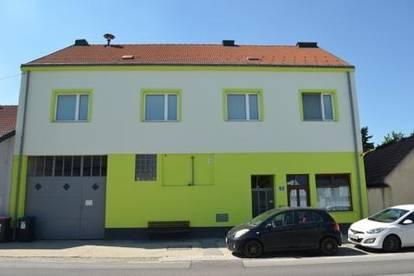 Unikat!: Entzückendes Blockhaus, 2 Wohnungen, Pub, Werkstatt und ausbaubarer Dachboden!